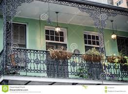 balcony new orleans royalty free stock images image 34465879
