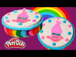 play doh cake how to make play doh rainbow cake play doh