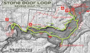 Gulf State Park Map by Toward Simple Trail Review Stone Door Loop Savage Gulf Tn
