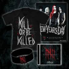 new years t shirt malevolence signed from merch now things i want as gifts
