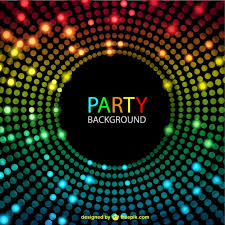 disco lights background vector free