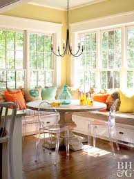 home design with yellow walls decorating with yellow
