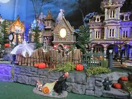 multi level halloween village display platform base 28