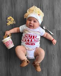 Potato Sack Creative Baby Halloween Cute Ramen Baby Costume Died Onesie Www