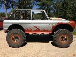 prerunner bronco suspension let u0027s see your stretched wheelbased bronco classicbroncos com
