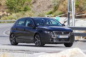peugeot roadster peugeot prepares to facelift 308 model lineup for 2017 autoevolution