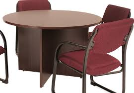 round office table and chairs wooden round office table small round office tables pinterest