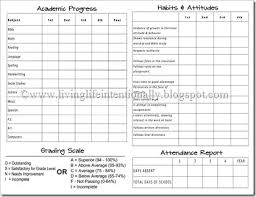 report card template high school report card template endowed portray reportcard 4