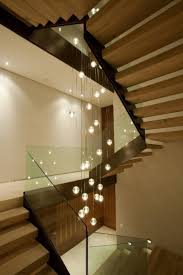home interior elegant modern interior decor with hanging stair