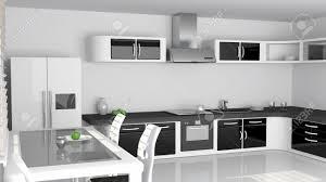 cuisine noir et blanc emejing cuisine blanc et noir pictures design trends 2017