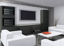 Awesome Home Theater Furniture Design Contemporary Interior
