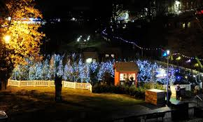hundreds attend aberdeen christmas village opening evening express