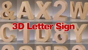 flystar network ltd 3d letter signs