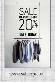 customizable design templates for mens fashion postermywall