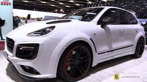 porsche jeep 2017 porsche cayenne turbo techart magnum sport walkaround