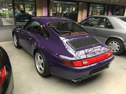 purple porsche boxster amaranth violet 993 with boxster red interior new in at the