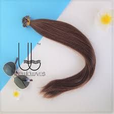 i tip hair extensions tip hair extension wave 20 inches 6 chestnut brown 100