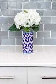 kitchen glass tile backsplash ideas for kitchens blue kitchen