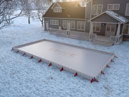 ez ice 60 minute backyard ice rink the green head