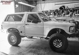 white bronco car ford bronco xd series xd222 enduro beadlock wheels machined