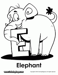 elephant coloring book coloring