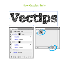 turn any font into a sketch font vectips