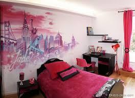 chambre pour fille de 10 ans modele meubles peint fille papier avec idee murale chambre pour
