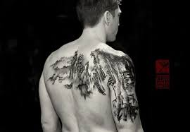 mountain tattoos u0026 top mountain range and scene design ideas 2018