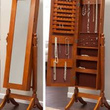 mirror and jewelry cabinet furniture best mirror jewelry armoire for your storage ideas
