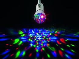 Wohnzimmerlampe Led Farbwechsel Easymaxx 05783 Led Partyleuchte Deluxe Mit Musiksensor