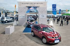 renault nissan renault samsung motors exports nissan rogue to north america