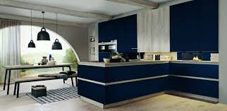 matte navy blue kitchen cabinets matte lacquered kitchen cabinets made in germany