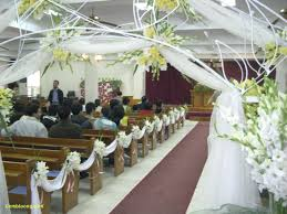 church decorations decoration modern wedding decoration ideas