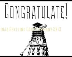 doctor who congratulations card doctor who graduation card