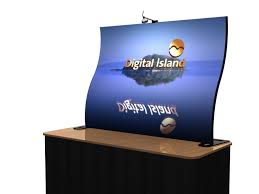 table top banners for trade shows tf 414 aero freestanding tabletop display exhibit solutions