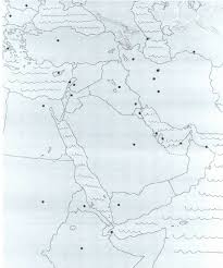 Blank Map Of Middle East by Syllabus History 100 Unlv