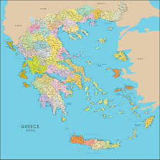 Map Greece by