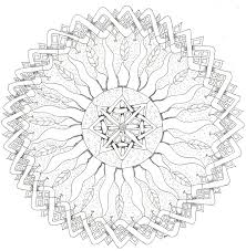 celtic mandala coloring pages get coloring pages