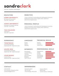 Best Simple Resume by Didot Font Sample Basic Resume Templates Objective For Cna Resume