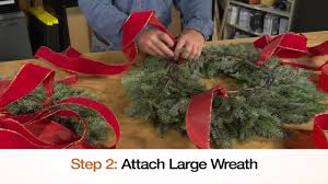 Christmas Decorations Home Depot by Holiday Wreath Chandelier The Home Depot Youtube