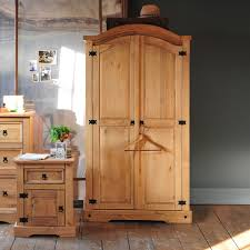 Solid Pine Bedroom Furniture Pine Wardrobes For Adding Natural Texture To Homes U2013 Furniture And