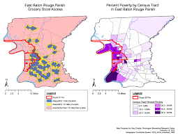 Louisiana Parish Map With Cities by Food Access Policy Commission Healthy Br