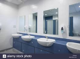 modern office bathroom modern office toilets and washroom stock photo 95733011 alamy