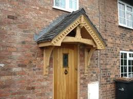 Front Door Awnings Wood Front Doors How To Plan Front Porch Column Ideas Front Door Door