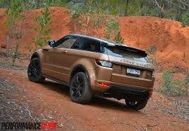 jeep land rover 2015 2014 range rover evoque si4 review video performancedrive