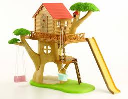 Cat Treehouse Sylvanian Families Treehouse Amazon Co Uk Toys U0026 Games