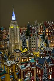 department 56 in the city snow collection