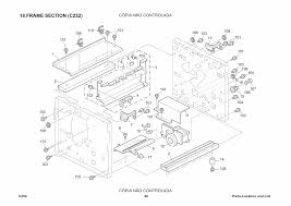 ricoh aficio jp 730 735 c252 c261 parts catalog