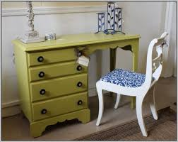 small student desk with drawers