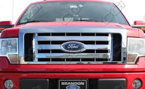 ford truck grilles chrome grill inserts customize your grill great prices